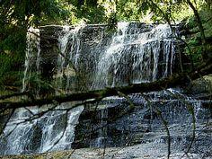 Laughing Whitefish Falls, Alger County,  Michigan Waterfalls DMG ©