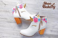 Unicorn shoes!!!!!! I wonder if you can fly in these?