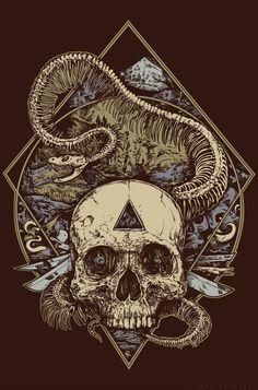 Skull Art from Timur Khabirov.