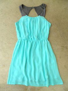 Portofino Mint Party Dress