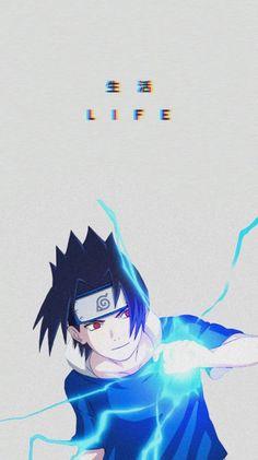 Naruto Vs Sasuke, Sasuke Uchiha Shippuden, Naruto Shippuden Sasuke, Anime Naruto, Otaku Anime, Fan Art Naruto, Neji E Tenten, Fan Art Anime, Anime Manga