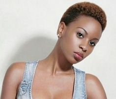Cute Short Afro Hairstyle