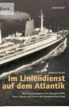 Ocean liner book