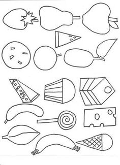 Very Hungry Caterpillar Coloring Pages - AZ Coloring Pages