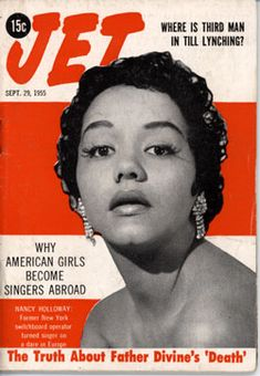 Jet Magazine Cover 1964   ... of the Emmett Till story continued in Jet Magazine Sept 29, 1955