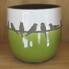 Birds on the green