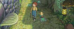 A j-rpg that Studio Ghibli collaborated on?  Yes Please <3 Can't wait!