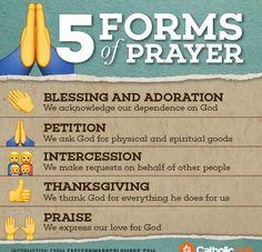 5 Forms of Prayer