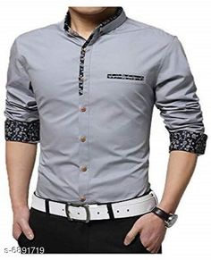 Checkout this latest Shirts Product Name: *New Attractive Men's Shirt* Fabric: Cotton Sleeve Length: Long Sleeves Pattern: Solid Multipack: 1 Sizes: M (Chest Size: 38 in, Length Size: 27 in)  L (Chest Size: 40 in, Length Size: 28 in)  Country of Origin: India Easy Returns Available In Case Of Any Issue   Catalog Rating: ★4 (3335)  Catalog Name: New Attractive Men's Shirt CatalogID_1100266 C70-SC1206 Code: 544-6891719-3411