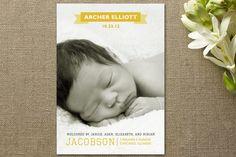Picture Birth Announcements