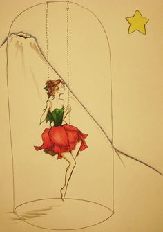 Esperando rosa por Atelierdereve