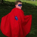 Super Hero Kit. I've wanted to make capes as an adoption fundraiser, or birthday theme party and give each child their OWN super hero cape as a favor.