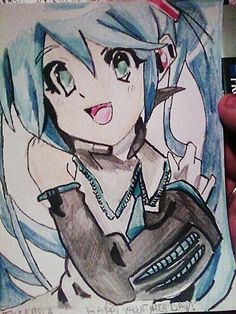 Miku by ~Panicatthedisco7 on deviantART