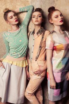 modelo de la moda: Foto: Lara Jade!