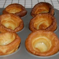Mum always made Yorkshire pudding with roast beef.  It's best with Prime Rib and is perfect for soaking up the great Au Jus that the roast renders.  Or just pour gravy over them.  It's a super easy and delicious British treat!!