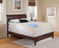 """Rest Rite IMTOP301TW 3 in. Gel Topper - Twin by Rest Rite. $108.00. 1 Convoluted Gel infused Memory Foam. Eco -Friendly Foam. 5 year Limited Warranty. removable Washable Velour Cvr. 2 Support Foam Base. The 3"""" Gel Topper provides you with renewed support and comfort. Gel is infused into the convoluted memory foam allowing you to sleep cooler than a traditional memory foam topper. 1"""" of gel infused memory foam over 2"""" of support foam contours to your bodies shape r..."""