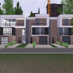 Modern Apartment Complex By Stevesuzz The Exchange Community Sims 3 Hidden Rooms