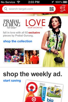 target | Fashion Tech Ecommerce, Retail & Mobile Commerce B