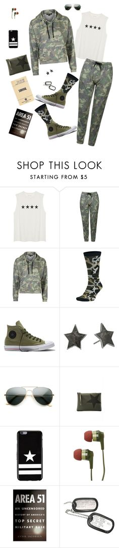 """Camp Comfort"" by lmello ❤ liked on Polyvore featuring Topshop, NIKE, Converse, Marc Jacobs, ZeroUV, Gum by Gianni Chiarini, Givenchy and Skullcandy"