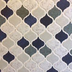 名古屋モザイクタイル/コラベル/コラベルタイル/バス/トイレのインテリア実例 - 2017-01-30 17:11:21 | RoomClip(ルームクリップ) Tile Art, Tile Design, Backsplash, Diy And Crafts, Furniture Design, Marble, Flooring, Ceramics, Interior Design