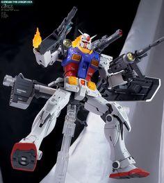 Identity Works's IMPROVED MG 1/100 RX-78-02 Gundam (Gundam The Origin Ver.) Full REVIEW Big Size Images | GUNJAP