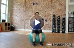 You'll love the creative exercises in this 8-minute arm-toning #workout with @Coach, Inc. Nicole! | via @SparkPeople #fitness #exercise #video