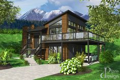 Plans - Plans Design Small Tiny House, Small House Plans, Plan Chalet, Roof Detail, Contemporary House Plans, Modern Farmhouse Exterior, Building A Shed, Industrial House, Shed Plans