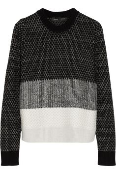 Proenza Schouler | Wool, cashmere and silk-blend sweater | NET-A-PORTER.COM