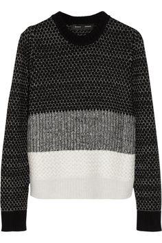 Proenza Schouler|Wool, cashmere and silk-blend sweater|NET-A-PORTER.COM