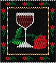 Wine and Roses Amulet Bag Pattern at Sova-Enterprises.com Lots of Free Beading Patterns and tutorials are available!