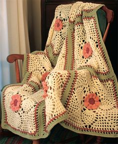 Crochet Throw.