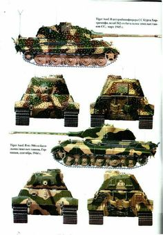 B camouflage Tiger II Tiger Ii, Military Drawings, Tank Armor, Tiger Tank, Model Tanks, Armored Fighting Vehicle, Military Pictures, Ww2 Tanks, World Of Tanks