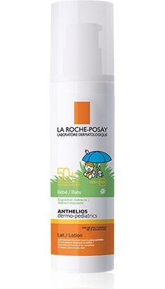 Anthelios Baby Dermo-Pediatrics       SPF 50+       Leche   BEBE packshot from Anthelios, by La Roche-Posay