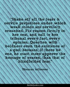 Thomas Jefferson Quotes, Religion Quotes, Shake It Off, Atheism, Quotes About God, Food For Thought, Quotations, Mermaid, Parenting