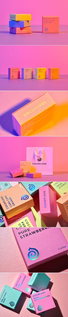 Cocofloss Comes With Beautiful Bold Packaging — The Dieline   Packaging & Branding Design & Innovation News