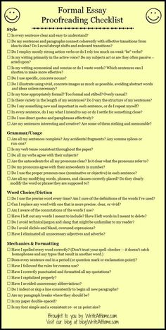 Essay Proofreading Checklist FREE Essay Proofreading Checklist Grab this free checklist to help your students as they proofread!FREE Essay Proofreading Checklist Grab this free checklist to help your students as they proofread! Academic Writing, English Writing, Teaching Writing, Writing Help, Writing Skills, Academic Vocabulary, Thesis Writing, Gcse English, Ap English