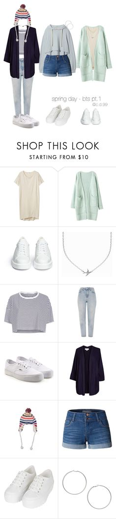 """""""spring day - bts dance cover outfits  pt.1"""" by cutiedonut99 ❤ liked on Polyvore featuring Monki, Robert Clergerie, Minnie Grace, T By Alexander Wang, Topshop, Vans, Velvet by Graham & Spencer, American Eagle Outfitters, LE3NO and Miss Selfridge"""