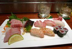 Sashimi to Sushi