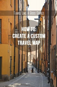 How to Create a Custom Itinerary Map with the New Google Maps via We Took the Road Less Traveled | #travel #tips
