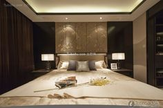 Modern Chinese-style bedroom design 2015