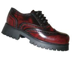 Boots & Braces Boots & Braces 4-Loch, Brouge, burgundy  #bootsandbraces #halbschuhe #brouge #burgundy / mehr Infos auf: www.Guntia-Militaria-Shop.de
