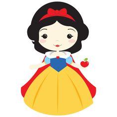 Disney Princess Babies, Disney Princess Snow White, Baby Princess, Princess Pinata, Disney Clipart, Cute Clipart, Cute Disney, Disney Art, Disney Tees