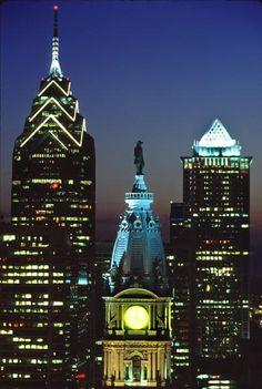 william penn statue @ city hall - philadelphia, pa