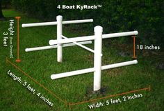 """Kyrak"" Kayak Storage Rack"