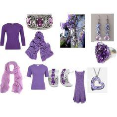 Cool/True summer purple set