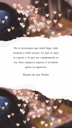 Destino y desatino Quotes And Notes, Me Quotes, Funny Quotes, More Than Words, Some Words, Motivational Phrases, Inspirational Quotes, Frases Love, Love Phrases