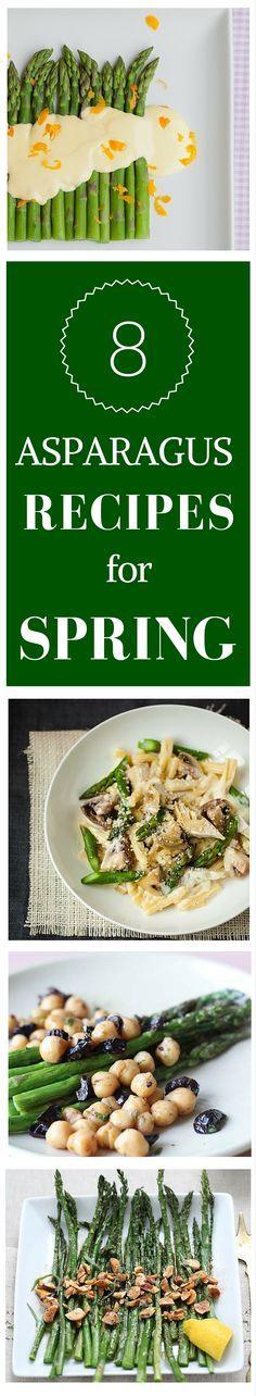 8 Asparagus recipes for Spring