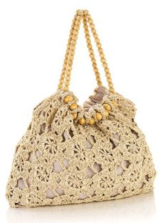 Straw Crochet Bag