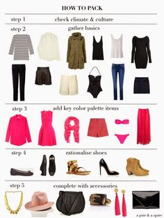 How to Pack Light for Travel