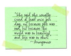Blog quote-life beautiful by Caitidid Designs, via Flickr